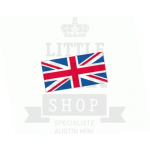Autocollant Drapeau Union Jack 105x55mm-austin-mini