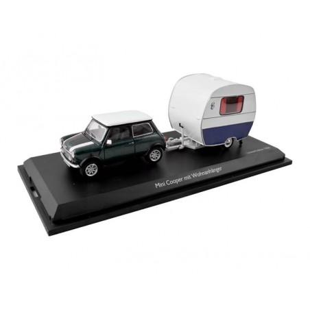 1/43 Mini Cooper Schuco avc caravane