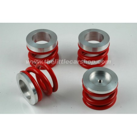 Kit ressorts de suspension rouge (circuit)