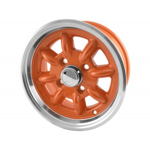 Pack de jantes 5 x 12 - Jante Superlight - Orange x 4-Austin