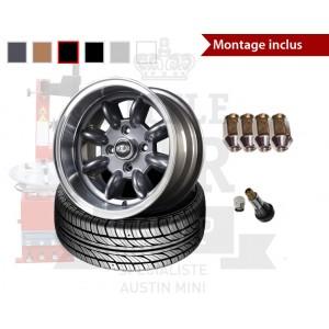 Pack jante 7x13 - Superlight - Couleurs au choix-Austin Mini