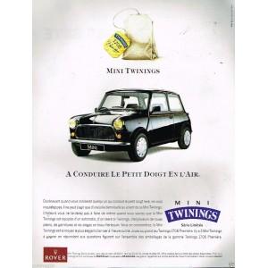 Kit Autocollants: Twinings (avec liserés)-Austin Mini