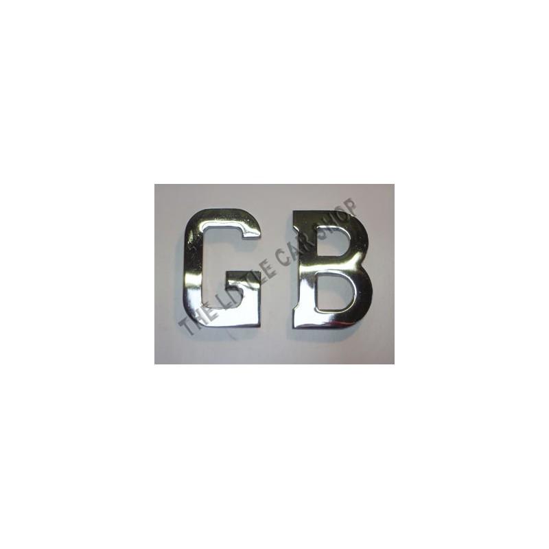 Lettre GB métal - Austin Mini