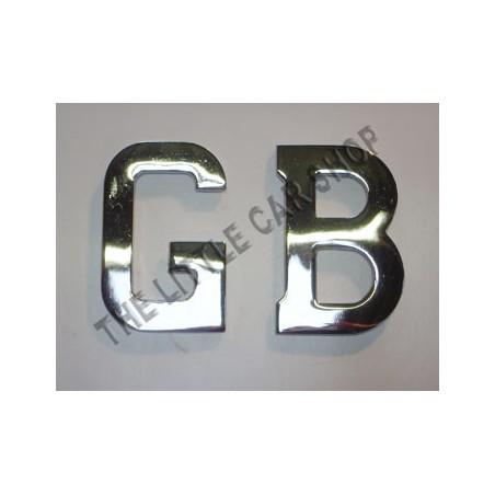 Lettre GB métal - Austin Mini-Austin Mini
