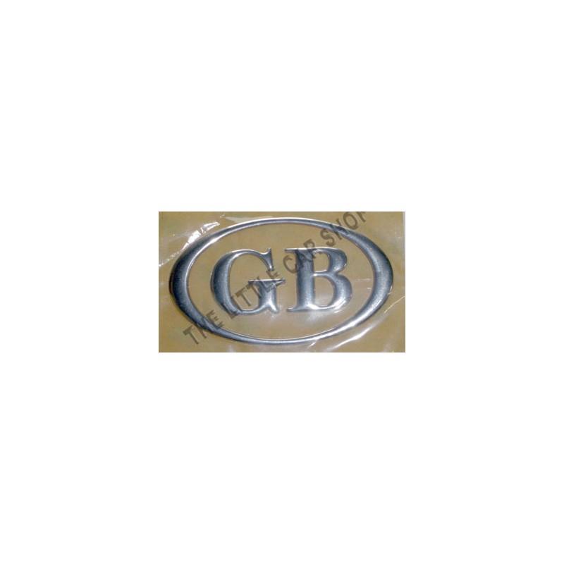 Lettre GB oval (plastic chromé) - Austin Mini-Austin Mini