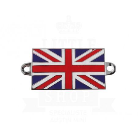 Badge drapeau anglais émail à viser - Austin Mini-Austin Mini