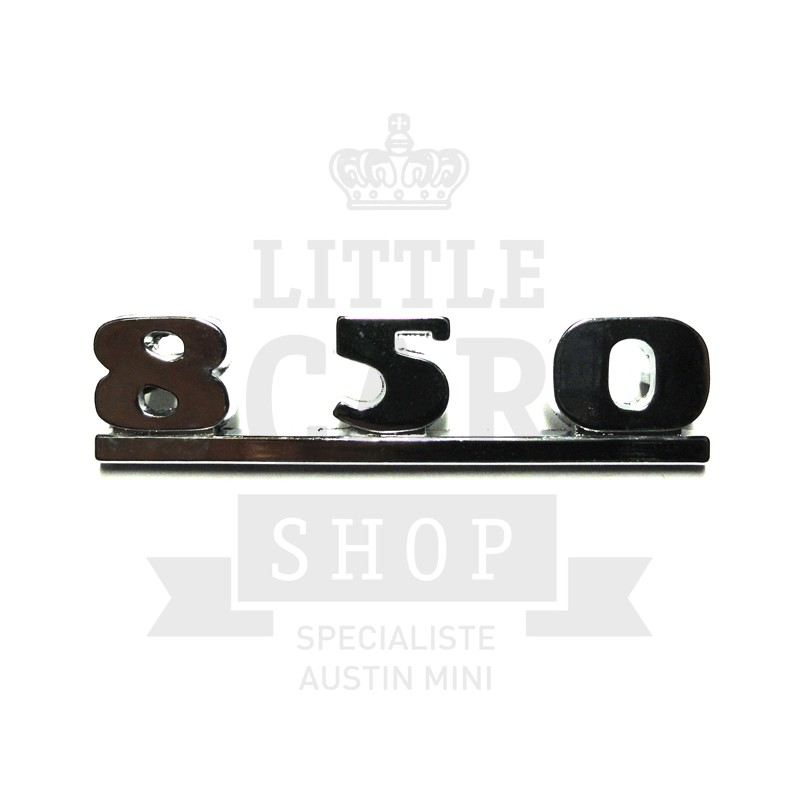 Script de malle ''850'' - Austin Mini-Austin Mini