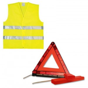 Kit Triangle et Gilet Jaune-austin-mini