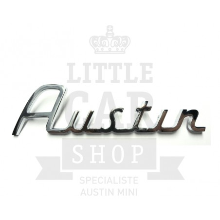 Script de malle ''Austin'' écriture