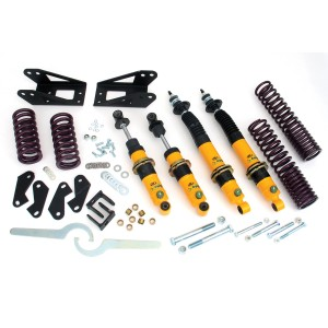 Kit Combiné Spax Racing - LOW - complet Av Ar-mg-mgb