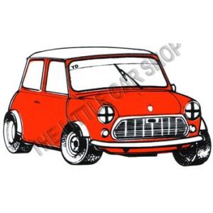 Kit serrure capot Av - occasion-Austin Mini