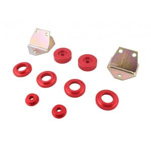 Kit silent-bloc métal berceau avant course-mg-mgb