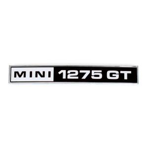 badge malle arrière mini 1275GT