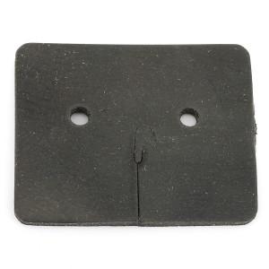 Plaque de protection caoutchouc coté levier de frein à main