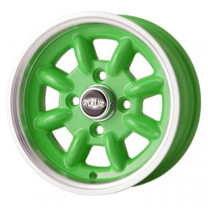 5 x 12 - Jante Superlight - Apple Green x 4-Austin Mini