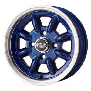 5 x 12 - Jante Superlight - Blue Metal RS x 4-Austin Mini