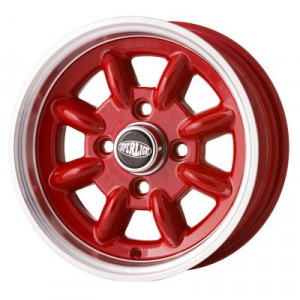 5 x 12 - Jante Superlight - Cooper Red x 4-Austin Mini