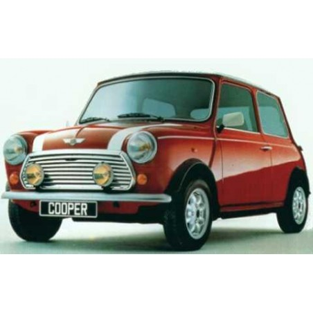 Kit autocollants Mini Cooper - blanc - Austin Mini-austin-mini