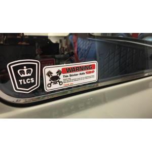 Autocollant - Gain de Puissance +10cv-Austin Mini