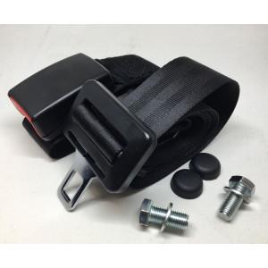 Ceinture arrière mini 2 points noire-Austin Mini