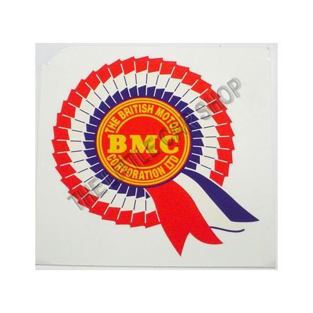 Autocollant BMC extérieur (vitrofanie)-Austin Mini