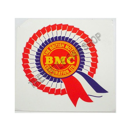 Autocollant BMC extérieur (vitrofanie)