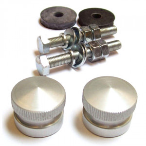 Kit de boutons de calandre ''alu''-Austin Mini