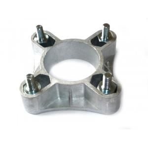 Elargisseur de voie 32 mm (la paire) + 8 goujons à