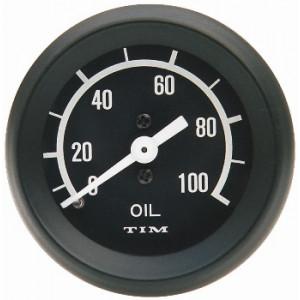 Jauge de pression d'huile Tim 0-100 livres - Austin Mini-Austin