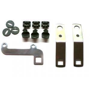 Kit de fixation plaque de protection pluie MINI inox-Austin Mini