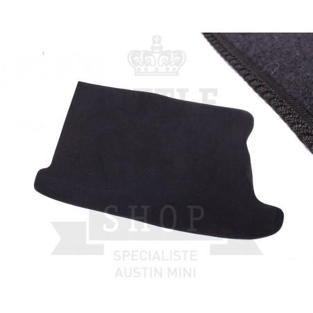 Tapis de coffre (noir) liseré noir-Austin Mini