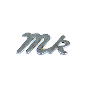 Badge malle arrière - MINI - ''mk''-mg-mgb