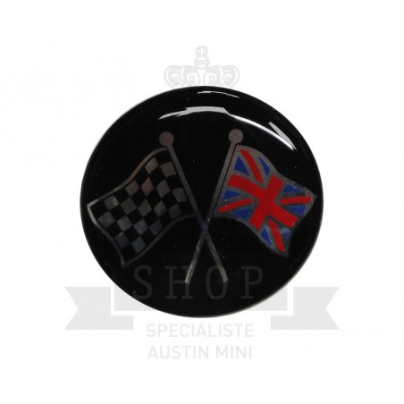 Autocollant rond Révolite (42mm) - Austin Mini-Austin Mini