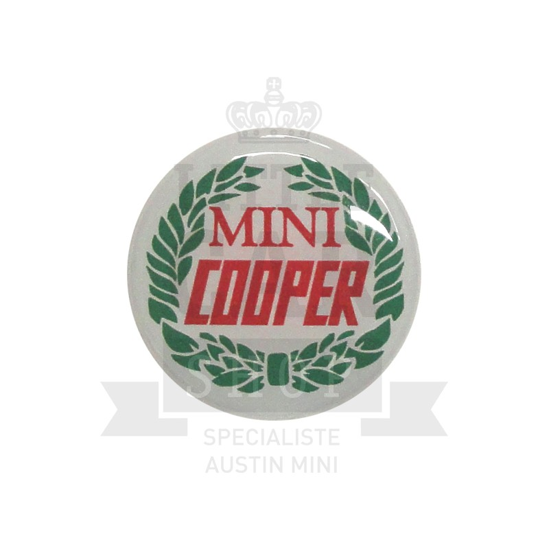 Autocollant rond Rover Cooper (42mm) - Austin Mini-Austin Mini