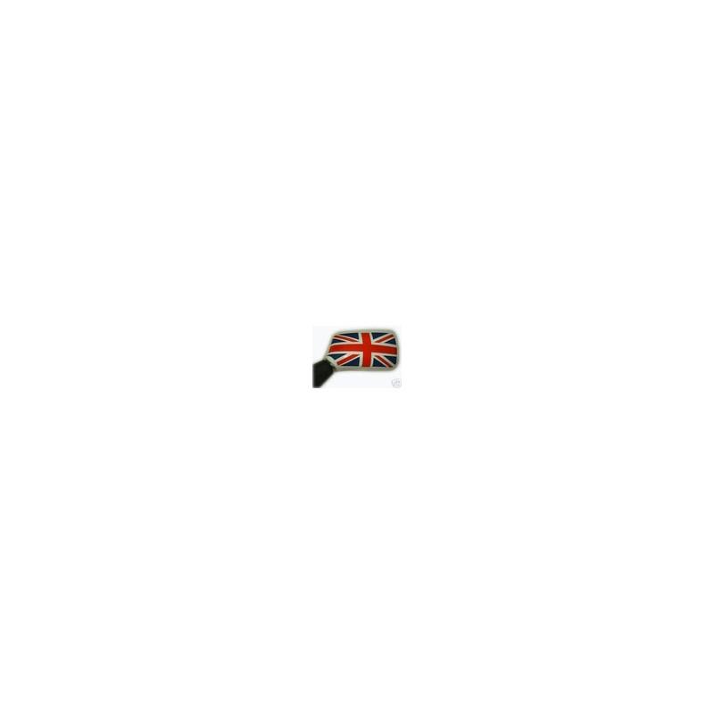 Drapeau anglais de rétro rouge bleu (la paire) - Austin Mini