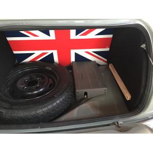 Intérieur de coffre rigide avec bandeau simili - noir-Austin