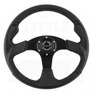 Volant Springalex Sport 320 noir (Moyeu en option)-austin-mini