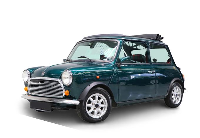 Austin Mini - Balmoral - The little car shop