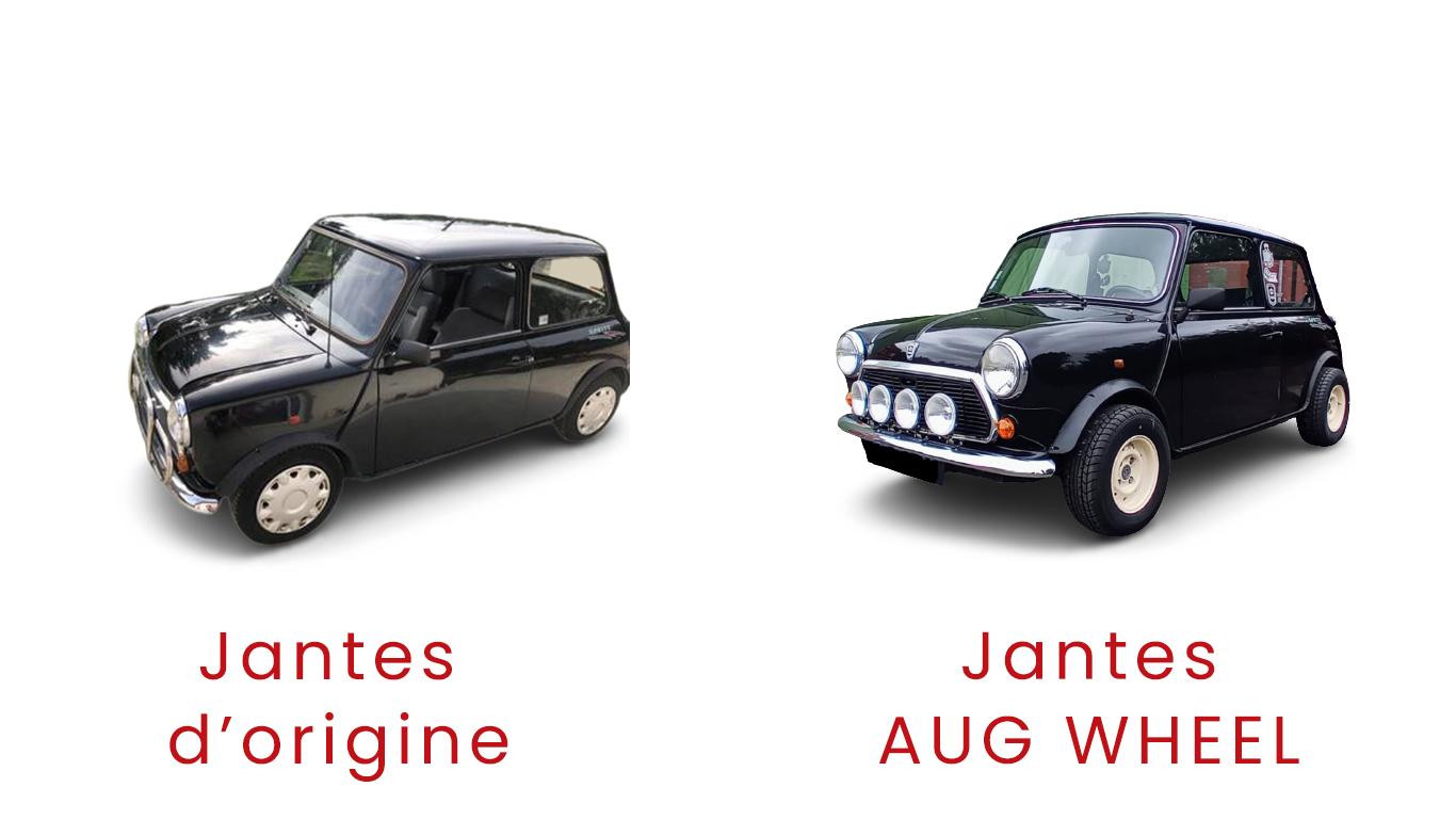 Jantes 10 pouces - Austin Mini - TLCS