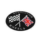 TLCS : Autocollants centres de roue pouces Pièces Détachées Austin Mini de 1959 à 2019