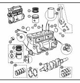 TLCS : Vue éclatee Pièces Détachées Austin Mini de 1959 à 2000